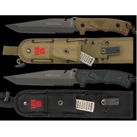 Cuchillo tactico Rui negro. titanium c