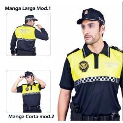 Polo policia Bicolor