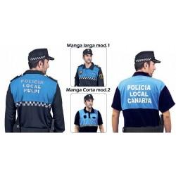 Polo policia Azulina