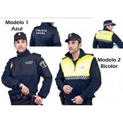 Polar Policia Bicolor-Azul