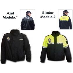 Chaqueta Anorak Policia