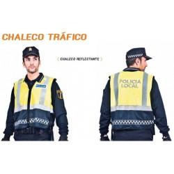 CHALECO REFLECTANTE POLICÍA