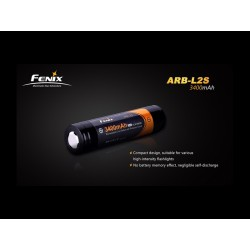 Bateria Fenix Li-ion 18650 3400mAh