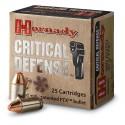 HORNADY CRITICAL DEFENSE 9MM 115gr