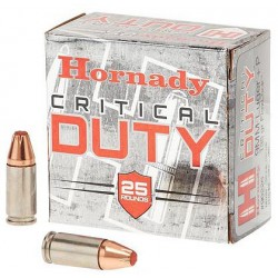 Hornady Critical Duty 9MM+P 135gr