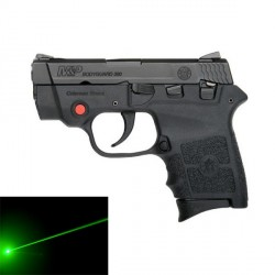 SMITH & WESSON mod. BODYGUARD 380 LASER verde