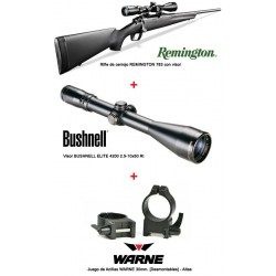 REMINGTON 783 + ELITE 4200 iluminado + WARNE desmontables