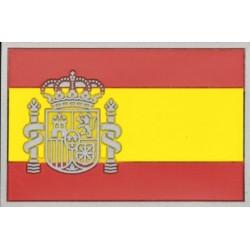 Parche bandera de España goma 3D