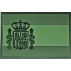 Parche bandera de España goma 3D OD