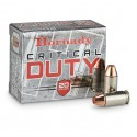 HORNADY CRITICAL DUTTY 40 S&W+P 175GR