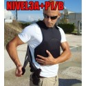 Chaleco Antibalas/anticuchillo GUARDTEX 24J Interior Rabintex P1/B