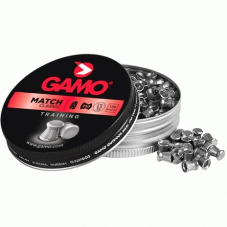 BALINES GAMO MATCH CAL. 5,5MM (250 ud)