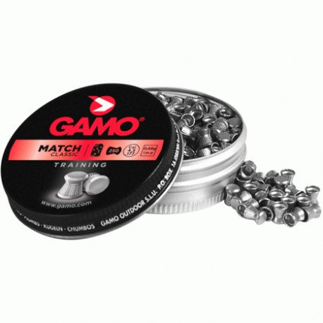 BALINES GAMO MATCH CAL. 4,5MM (250 ud)