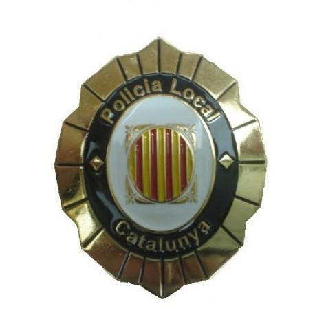 PLACA INSIGNIA POLICÍA LOCAL CATALUÑA