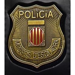 PLACA MOSSOS D'ESCUADRA