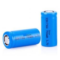 2 unidades Baterias 3,7V recargables