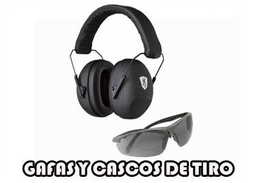 GAFAS Y CASCOS DE TIRO